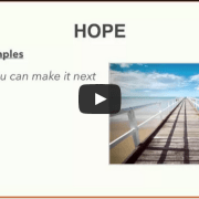 Hope Vocabulary