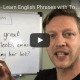 English phrases with look